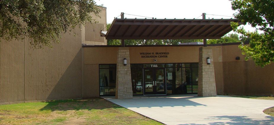 Bradfield Recreation Center exterior of building