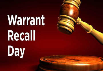 Warrant Recall Day